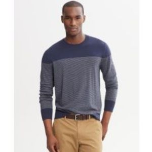 Banana Republic Cashmere blend Stripe Sweater